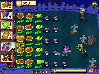 Mobile game Plants vs Zombies - screenshots. Gameplay Plants vs Zombies.