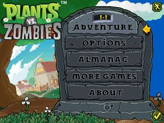Download free mobile game: Plants vs Zombies - download free games for mobile phone.