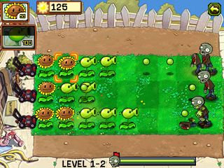 Download free game for mobile phone: Plants vs Zombies - download mobile games for free.