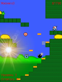 Mobile game Bomber plus - screenshots. Gameplay Bomber plus.
