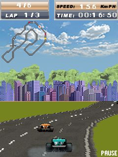 Download free mobile game: Formula Race - download free games for mobile phone.