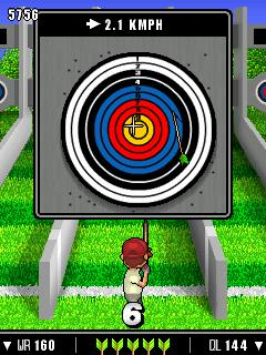 Mobile game Absolute Summer Sports 2012 - screenshots. Gameplay Absolute Summer Sports 2012.
