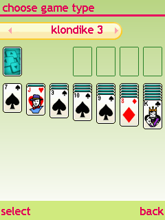 Download free mobile game: 365 Solitaire Gold 12 in 1 - download free games for mobile phone.