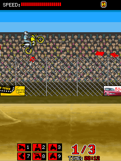 Download free game for mobile phone: Daredevil Racing - download mobile games for free.