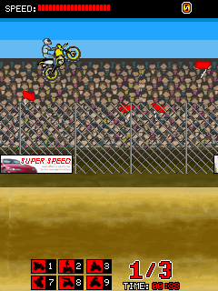 Jeu mobile La Course d'Enfer - captures d'écran. Gameplay Daredevil Racing.