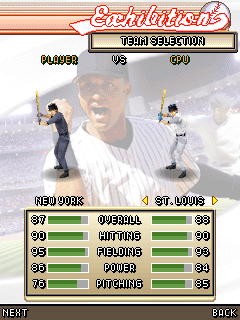 Download free mobile game: Derek Jeter Pro Baseball 3D 2007 - download free games for mobile phone.