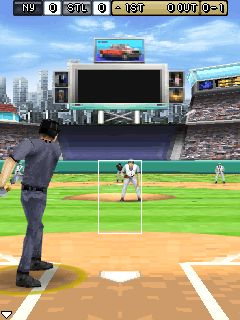 Mobile game Derek Jeter Pro Baseball 3D 2007 - screenshots. Gameplay Derek Jeter Pro Baseball 3D 2007.
