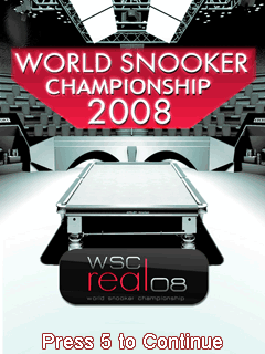 World Snooker Championship 2008 3D