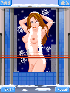 Mobile game Full Frontal Chritsmas Edition - screenshots. Gameplay Full Frontal Chritsmas Edition.