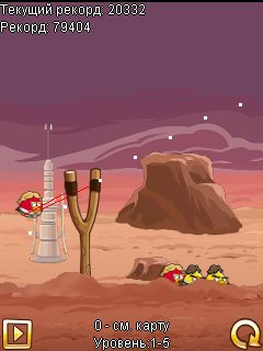 Mobile game Angry Birds: Star Wars - screenshots. Gameplay Angry Birds: Star Wars.