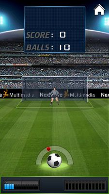 Download free mobile game: Penalty Kick - download free games for mobile phone.