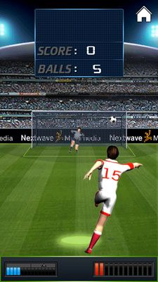 Download free game for mobile phone: Penalty Kick - download mobile games for free.