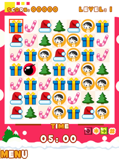 Download free mobile game: Christmas Dock Blox - download free games for mobile phone.