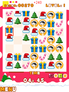 Download free game for mobile phone: Christmas Dock Blox - download mobile games for free.