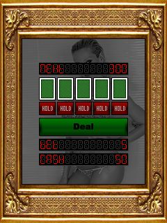 Download free mobile game: Sandy's Sехy Video Poker - download free games for mobile phone.