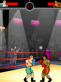 Jeu mobile La Boxe:les Knock-Out - captures d'écran. Gameplay Knockout Boxing.