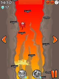 Download free game for mobile phone: Hell Jump - download mobile games for free.