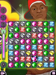 Jeu mobile Le PopStar de Diamants - captures d'écran. Gameplay Diamond PopStar.