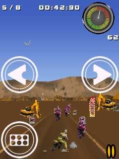 Download free game for mobile phone: Motocross Racer - download mobile games for free.