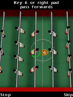 Download free mobile game: Table Football - download free games for mobile phone.