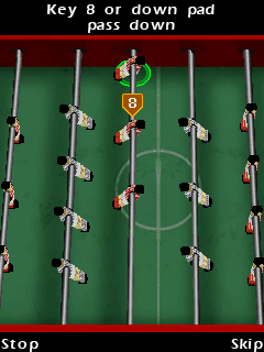 Download free game for mobile phone: Table Football - download mobile games for free.