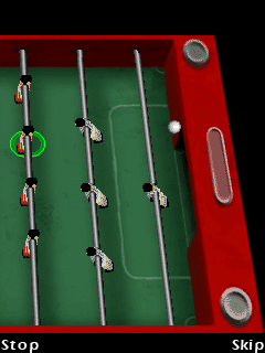Mobile game Table Football - screenshots. Gameplay Table Football.