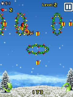 Download free mobile game: Santa Stunt - download free games for mobile phone.