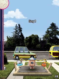 Download free mobile game: Gumball Journey to the Moon - download free games for mobile phone.