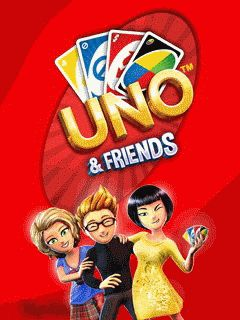Download free Uno & Friends - java game for mobile phone. Download Uno & Friends