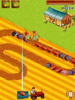 Download free game for mobile phone: Chucky's Farm - download mobile games for free.