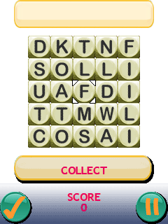 Download free game for mobile phone: 365 Word Jumble - download mobile games for free.