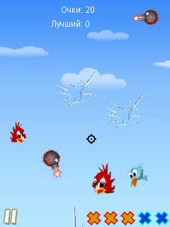 Download free mobile game: Cut The Bird - download free games for mobile phone.