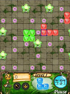 Download free game for mobile phone: Jewel Land - download mobile games for free.