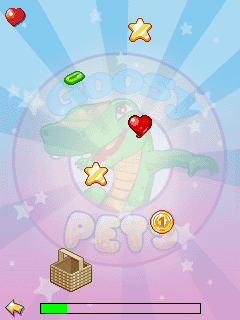 Mobile game Goosy Pets Croc - screenshots. Gameplay Goosy Pets Croc.