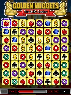 Download free mobile game: Golden Nuggets: The 24Kt Casino - download free games for mobile phone.