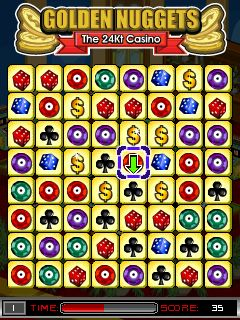Download free game for mobile phone: Golden Nuggets: The 24Kt Casino - download mobile games for free.