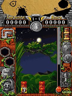 Download free game for mobile phone: Mayan Rock - download mobile games for free.