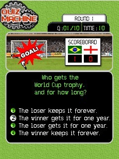 Download free game for mobile phone: Quiz Machine: Super Soccer - download mobile games for free.