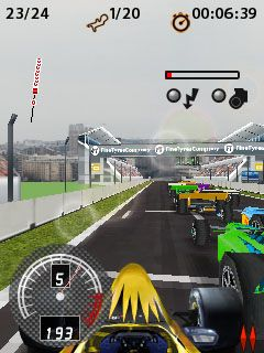 Jeu mobile Courses de Formule  Pro 3D - captures d'écran. Gameplay Formula Racing Pro 3D.