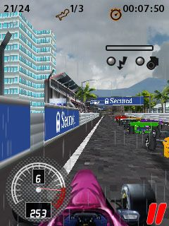 Download free game for mobile phone: Formula Racing Pro 3D - download mobile games for free.