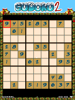 Download free mobile game: Sudoku Christmas 2 - download free games for mobile phone.