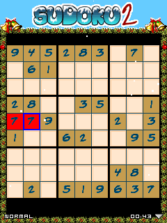 Download free game for mobile phone: Sudoku Christmas 2 - download mobile games for free.