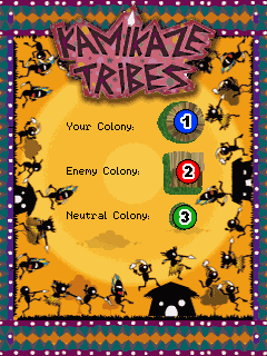 Download free mobile game: Kamikaze Tribes - download free games for mobile phone.
