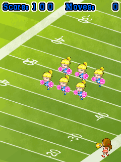 Download free game for mobile phone: Cheerleader Squad - download mobile games for free.