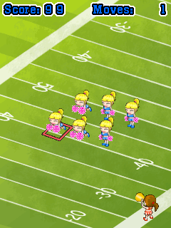 Mobile game Cheerleader Squad - screenshots. Gameplay Cheerleader Squad.