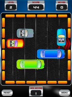 Download free game for mobile phone: Parking's rush - download mobile games for free.