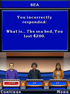 Mobile game Jeopardy! Deluxe - screenshots. Gameplay Jeopardy! Deluxe.