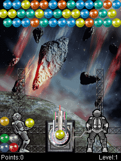 Download free mobile game: Bubble Crash Silver Edition - download free games for mobile phone.