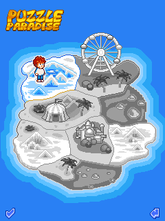 Download free mobile game: Puzzle Paradise - download free games for mobile phone.