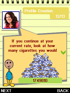 Download free game for mobile phone: My Health Coach: Stop Smoking with Allen Carr - download mobile games for free.
